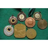 Медали спортивные 8 шт
