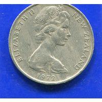 Новая Зеландия 20 центов 1972
