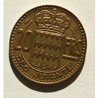 Монако 20 франков, 1951 5-5-15