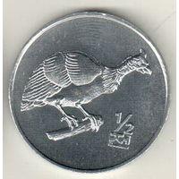 Северная Корея 1/2 чон 2002 Цесарка