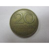 20 Пфенингов 1969 (ГДР)