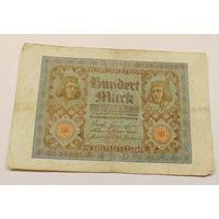 Старт с 1 рубля. 100 марок 1920 год.