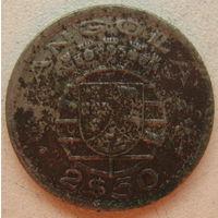Ангола Португальская 2,5 эскудо 1953 г. (gl)