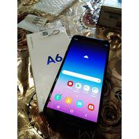Смартфон Samsung Galaxy A6 (2018) 3GB/32GB (черный). ТОРГ!