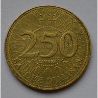 Ливан, 250 ливров 2012 г.