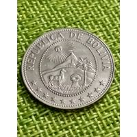 Боливия 50 сентаво 1965 г