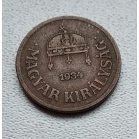 Венгрия 2 филлера, 1934 1-1-21