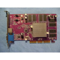 Видеокарта NVIDIA GeForce4 MX 4408X AGP8X 128MB 128bit TV-OUT