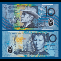 [КОПИЯ] Австралия 10 долларов 1993-94г.г. (Образец)