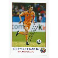 Gabriel Tomas(Румыния). Живой автограф на фотографии.