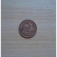 Остров Джерси, 2 пенса, 1998 г., Елизавета Вторая, хорошее состояние