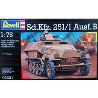 Полугусеничный бронетранспортер 1:76 Revell Sd. Kfz. 251/1 Ausf.B (1938 г, Германия)