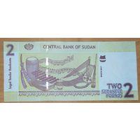 2 фунта 2017 года - Судан - UNC