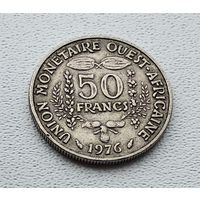 Западная Африка 50 франков, 1976 7-7-41