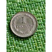Сальвадор 1 сентаво 1989 г ( сталь с покрытием 1.5 г )