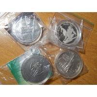Монеты в футляре некоторые с сертификатами