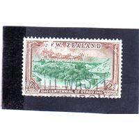 Новая Зеландия.Ми-255.Столетие Новой Зеландии. Кромвель в Отаго. 1940.