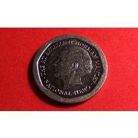 5 долларов 1996. Ямайка. Отличная!