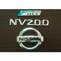 Эмблемы логотип значок лейбы Nissan NV200