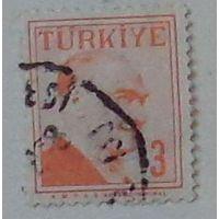 Ататюрк. Турция. Дата выпуска:1958