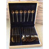 Набор столовых приборов СССР (ложки, ножи, вилки)