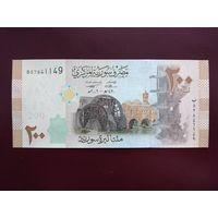 Сирия 200 фунтов 2009 UNC