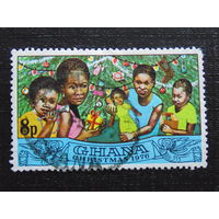 Гана 1976 год Рождество.