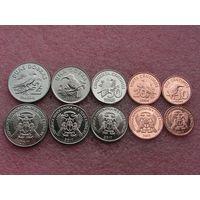 Сан-Томе и Принсипи набор монет 2017 год