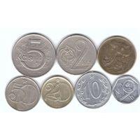 Чехословакия набор 7 монет