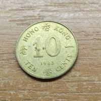 Гонконг 10 центов 1983_РАСОДАПРЖА КОЛЛЕКЦИИ