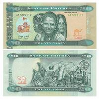 Эритрея. 20 накфа 2012 г. [P.12] UNC