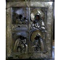 Икона четырёxчастная Богородица!
