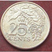 6448:  25 центов 2009 Тринидад и тобаго