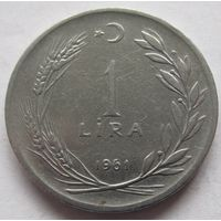 Турция 1 лира 1961