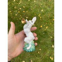Статуэтка заяц ( Лот с рубля )