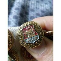 Значок СССР. Золотое кольцо. Галич.