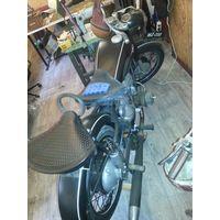 Ифа 1957 года немецкий мотоцикл