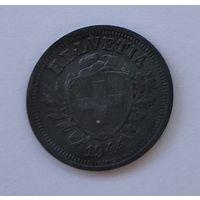 Швейцария 1 раппен, 1944 7-5-31