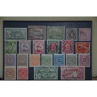 Большой лот марок ранней Германии. Чистые и гашенные. Бавария, Данциг, Рейх и др. См.описание лота.