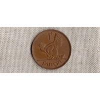 Ирландия 1 пенни 1968 /фауна/наседка///(Ст)