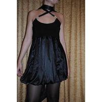 """Чёрное женское фирменное вечернее платье Seam creative line""""БЕАТРИС"""",размер-(42/44),-на рост 164-175. НОВОЕ/Фабричная ТУРЦИЯ."""