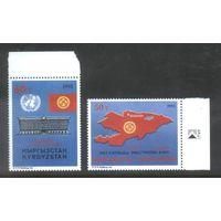 Киргизия Провозглашение независимости и вступление в ООН 1993 г