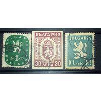 Болгария,3 старые марочки