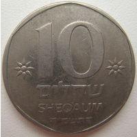 Израиль 10 шекелей 1985 г. (d)