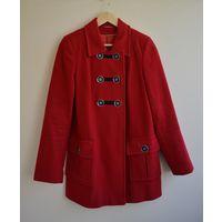 Пальто красное Элема
