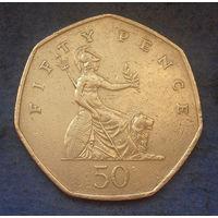 Великобритания 50 пенсов 1997