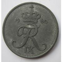 Дания 5 эре 1960  .  .8 А - 260