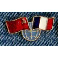 Флаги СССР-Франция