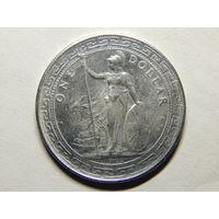 Великобритания 1 торговый доллар 1911г. Копия.