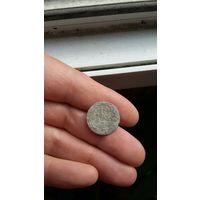 10 грошей 1840 года (10 groszy) серебро